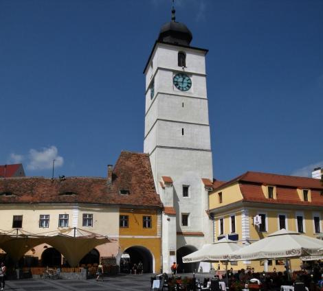 Hermannstadt: Ratturm zwischen Großem und Kleinem Ring (2018)