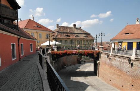 Hermannstadt: Lügenbrücke mit Rampe (2018)