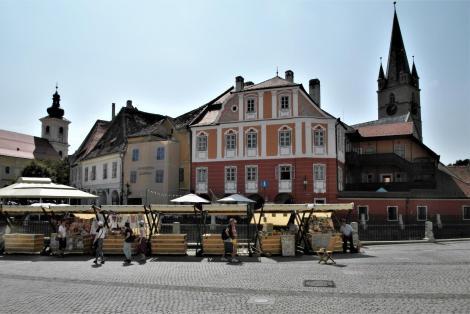 Hermannstadt: Kleiner Ring mit Luxemburg-Haus (2018)