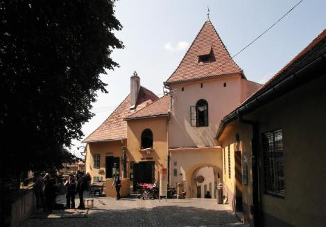 Hermannstadt: Sagstiegenturm am Huetplatz (2018)