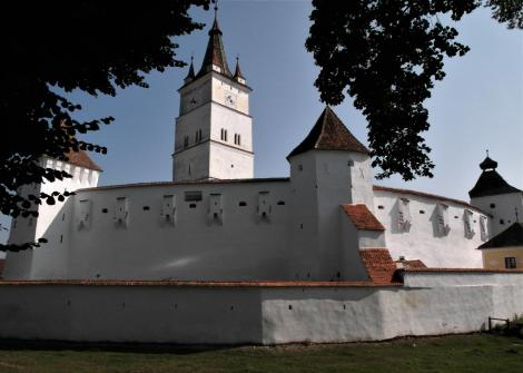 Honigberg (rum. Hărman): Kirchenburg (2018)