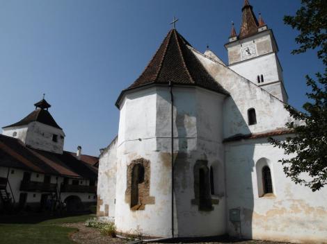 Honigberg (rum. Hărman): Kirchenburg - Kirche (2018)
