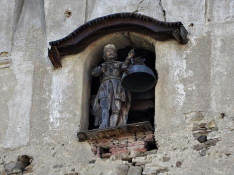 Keisd: Bogdan [Glockenschläger] im Turm der Kirchenburg (2018)
