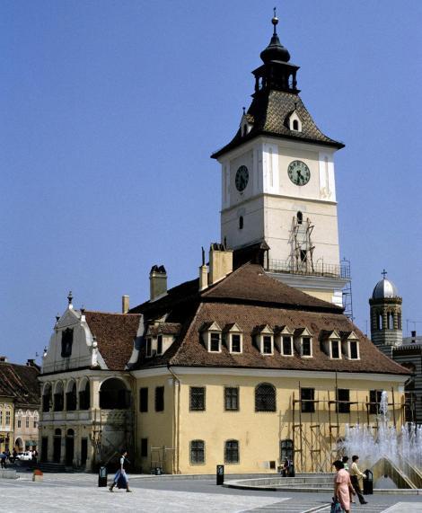 Kronstadt: Rathaus (1991)