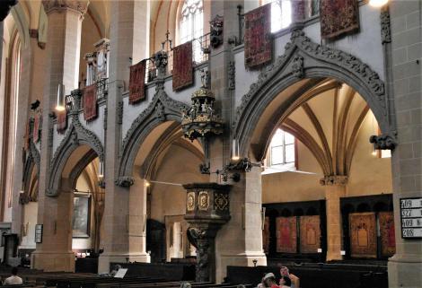 Kronstadt: Schwarze Kirche - Langhaus (2018)