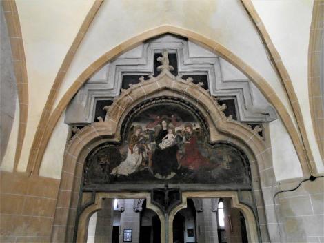 Kronstadt: Schwarze Kirche Portal der Südvorhalle (2018)