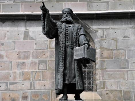 Kronstadt: Honterus-Denkmal (2018)