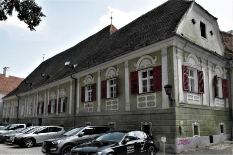Kronstadt: Evangelisches Pfarrhaus im Honterushof (2018)