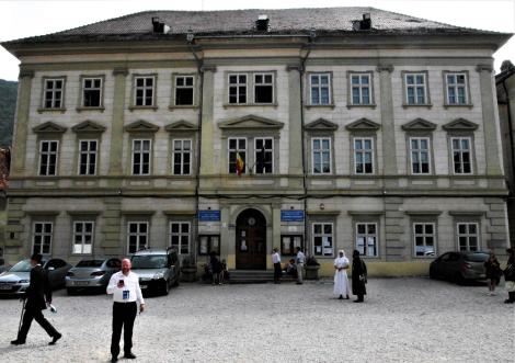 Kronstadt: Honterus-Gymnasium - Hauptgebäude (2018)