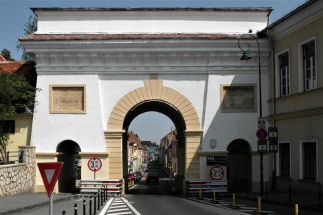 Kronstadt: Waisenhausgässer Tor (2018)