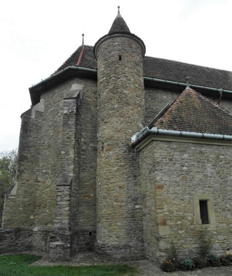 Malmkrog: Kirchenburg - Kirche (2018)