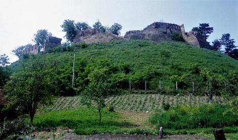Marienburg: Burg [Zustand der Ruine vor der Rekonstruktion] (1991)
