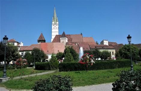 Mediasch: Kirchenburg mitten in der Stadt (2018)