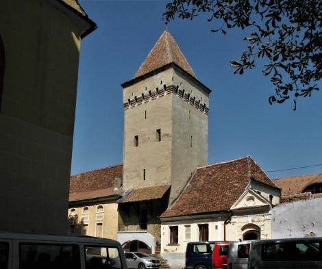 Mediasch: Kirchenburg Speckturm = Seilerturm und Burghüterhaus (2018)