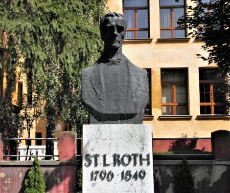 Mediasch: Stephan Ludwig Roth-Denkmal (2018)