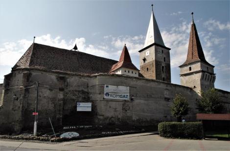 Meschen (rum. Moşna): Kirchenburg (2018)