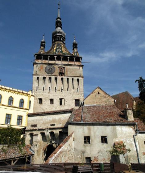 Schäßburg: Stundenturm (2018)