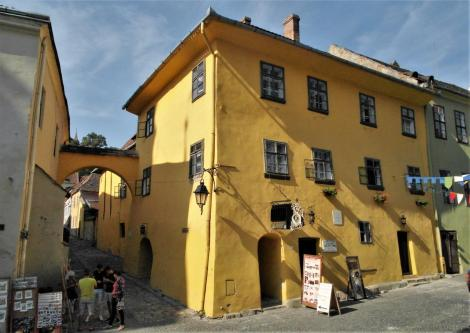 Schäßburg: Draculahaus (2018)