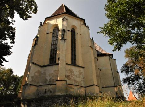 Schäßburg: Bergkirche - Chor (2018)