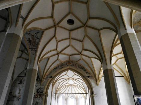Schäßburg: Bergkirche - Gewölbe (2018)