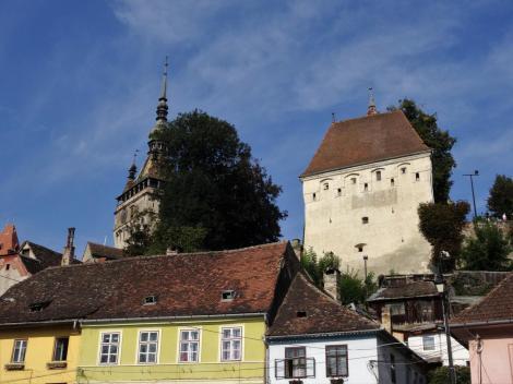 Schäßburg: Stundenturm und Schmiedeturm (2018)