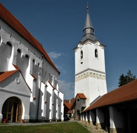 Dersch (rum. Dârjiu, ung. Székelyderzs): Kirchenburg (2018)