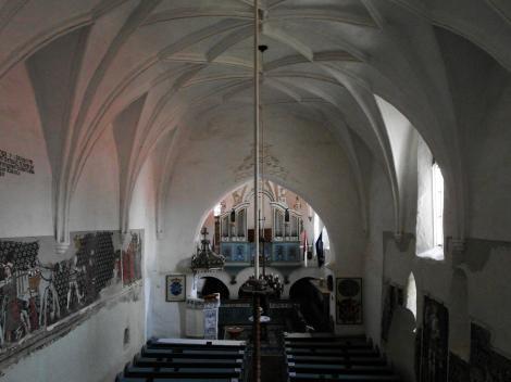 Dersch (rum. Dârjiu, ung. Székelyderzs): Kirchenburg - unitarische Kirche (2018)