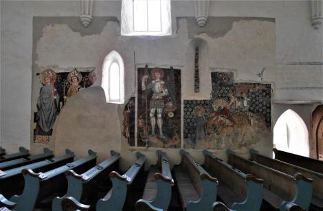Dersch (rum. Dârjiu, ung. Székelydersz): Kirchenburg - unitarische Kirche (2018)