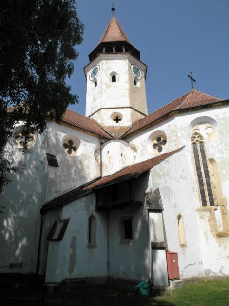 Tartlau (rum. Prejmer): Kirchenburg - Kirche (2018)