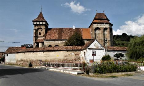 Wurmloch (rum. Valea Viilor): Kirchenburg (2018)