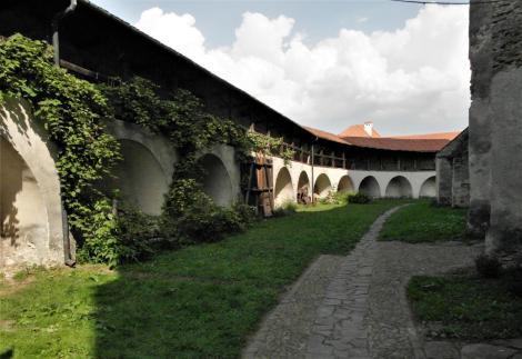 Wurmloch (rum. Valea Viilor): Kirchenburg - Bering mit Wehrgang (2018)