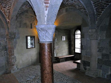 Gran [ung. Esztergom]: Burg - Gewölbesaal (2008)