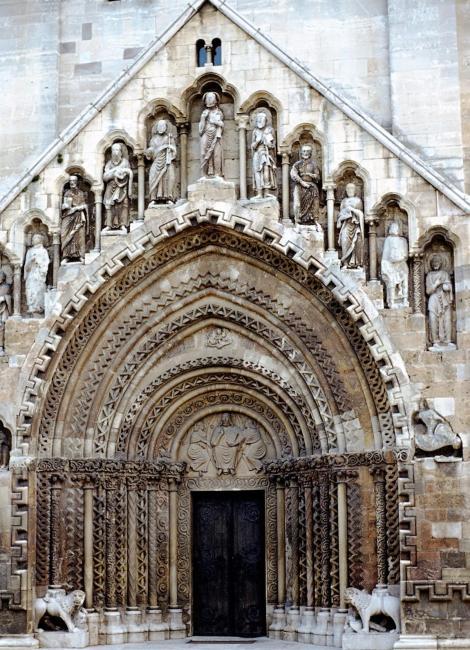 Jak: Abteikirche - Portal (1983)
