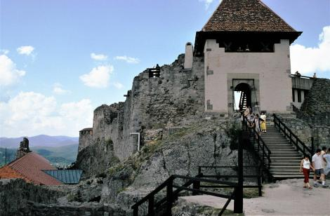 Plintenburg [ung. Visegrád]: Obere Burg (2004)