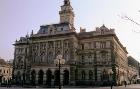 Neusatz [serb. Novi Sad]: Rathaus (1990)