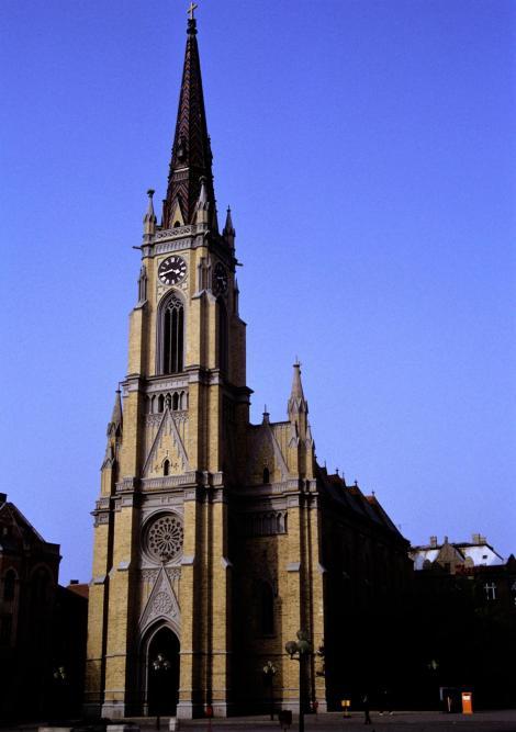 Neusatz [serb. Novi Sad]: Marienkirche (1990)