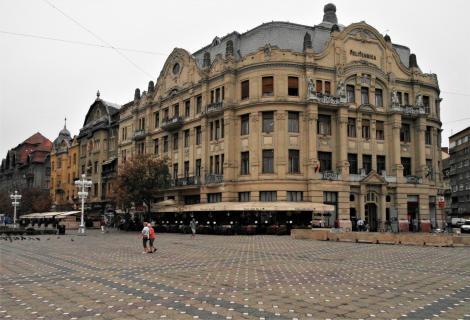 Temeswar: Siegesplatz - Palais Lloyd (2018)