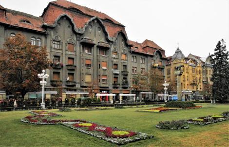Temeswar: Siegesplatz - Palais Dauerbach (2018)