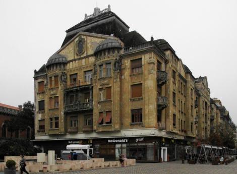 Temeswar: Siegesplatz - Palais Löffler (2018)