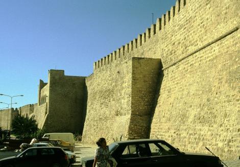 Sousse: Stadtmauer (1998)