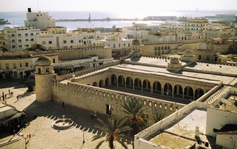 Sousse: Große Moschee [Blick vom Ribat] (1998)