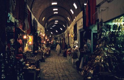 Sousse: Suk in der Medina (1998)