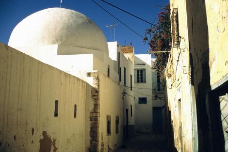 Sousse: Häuser in der Medina (1998)