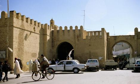 Kairouan: Stadtmauer (1998)