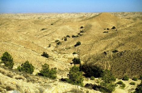 Landschaft bei Matmata (1998)