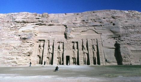 Abu Simbel: Kleiner Tempel [Hathortempel] (1982)