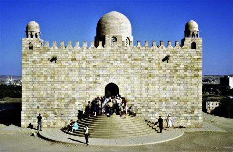 Assuan: Aga Khan-Mausoleum (1982)