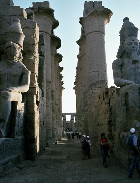 Luxor: Luxortempel - Säulengang (1982)
