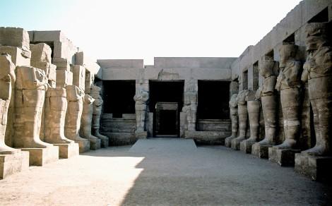 Luxor: Karnaktempel - Amon-Tempel von Ramses II. (1982)