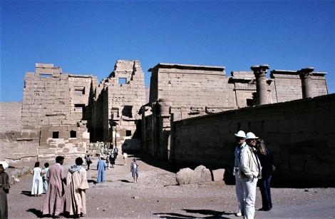 Theben-West: Medinet Habu - Eingangstoranlage (1982)